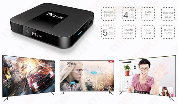 Sản phẩm Tanix TX3 Mini được đánh giá cao nhất phân khúc giá bình dân