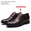 Giày độn nam  -Giày tăng chiều cao - Giày tăng cao 6cm