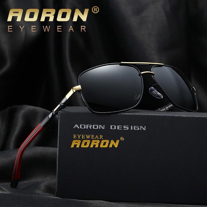 Kính mát nam phân cực cao cấp aoron 8724 - nvfashion