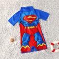 Đồ bơi liền thân bé trai - hình siêu nhân