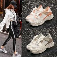 Giày sneaker nữ pha màu cá tính