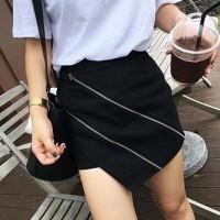 quần short giả váy dây kéo Mã: QN818