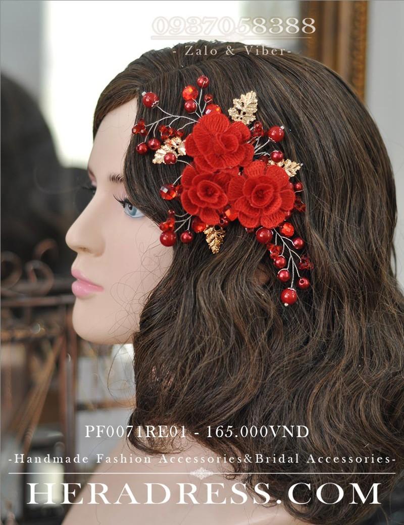 Lược hoa cài tóc pf0071re01