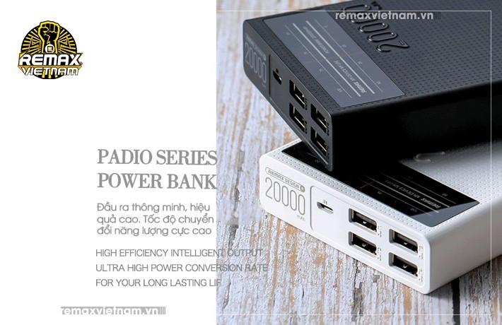 Pin sạc dự phòng 20000mAh 4 cổng USB Remax RPP-102 7