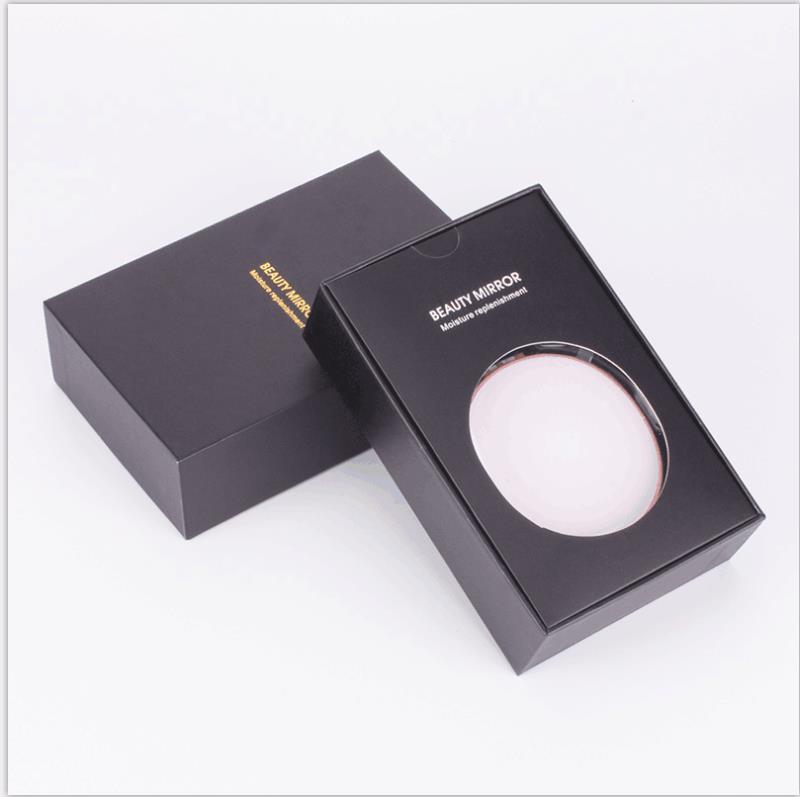 Gương trang điểm Beauty Mirror đa chức năng kết hợp phun sương nano + đèn LED + sạc dự phòng 5