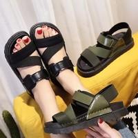 Sandal FREE SHIP quai thun đế cao su êm chân