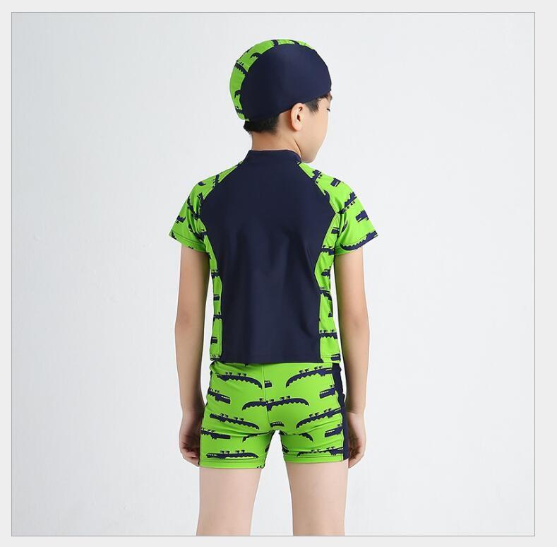 Đồ bơi bé trai hình cá sấu