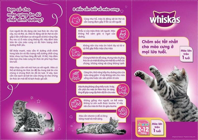 Hàng Nhập Khẩu - Thức Ăn Mèo Whiskas - 3