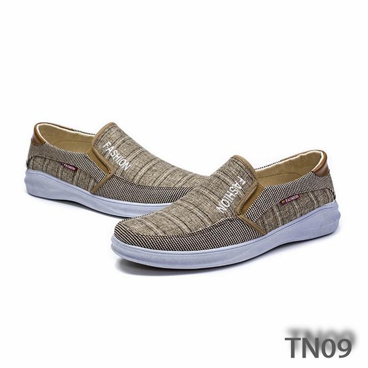 Giày sneaker nam đẹp phong cách thời trang catino tn09 màu nâu