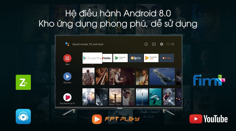 IPS LED Super Bright Panel - Android Tivi Panasonic 4K 49 inch 49FX550V