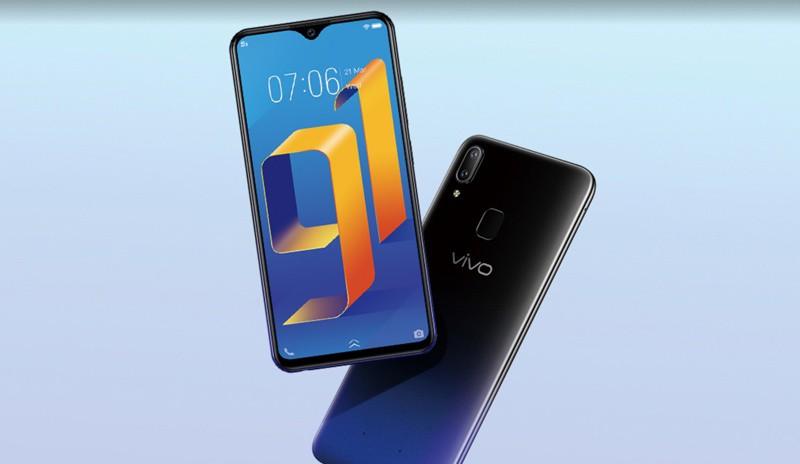 Thiết kế tổng thể điện thoại Vivo Y91 chính hãng