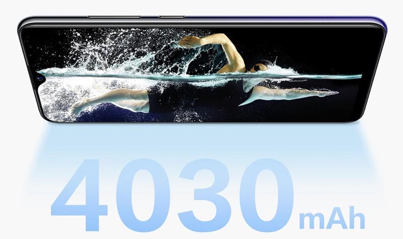 Dung lượng pin mạnh mẽ trên điện thoại Vivo Y91 chính hãng