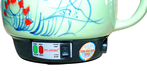 Giá Ấm sắc thuốc bắc bằng điện Fujishi 3.2 Lít màu Xanh Ngọc