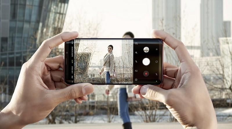 Bảo mật trên điện thoại Samsung Galaxy S9 Plus