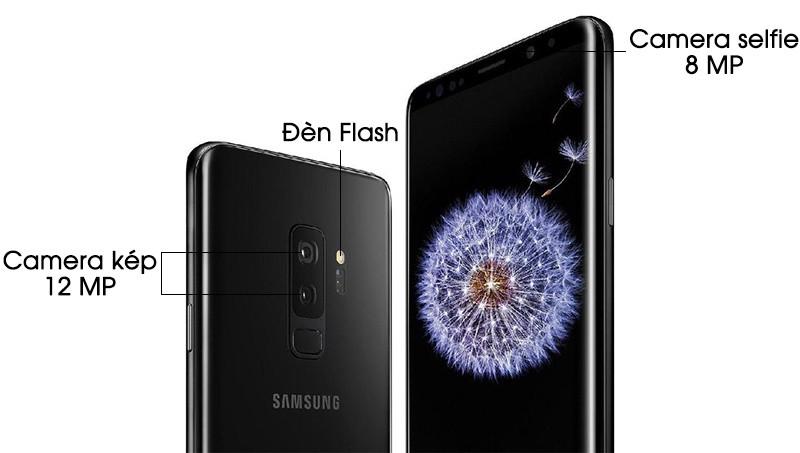 Camera trên điện thoại Samsung Galaxy S9 Plus