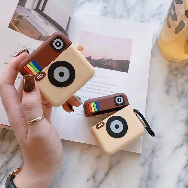 Ốp Airpods 1/2/Pro silicone Instagram - PK445