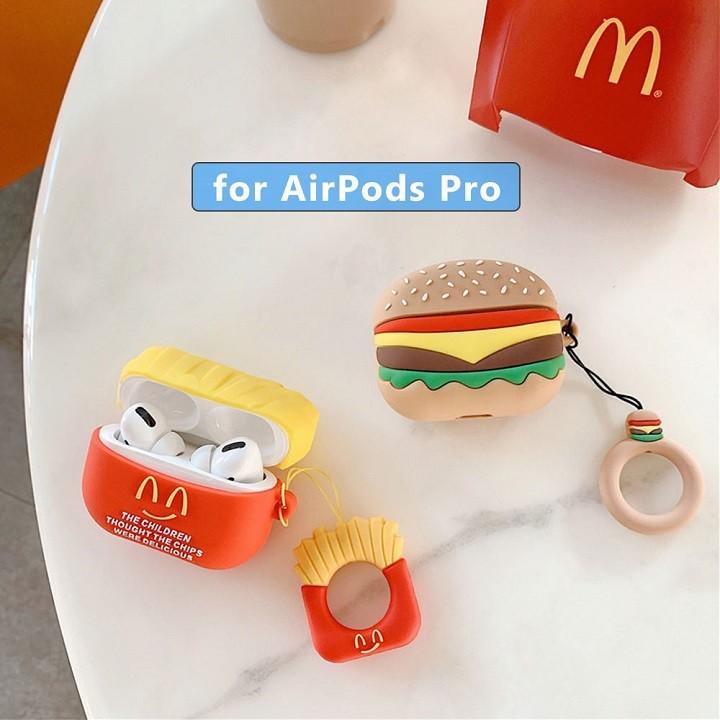 Ốp Airpods Pro silicone đồ ăn - PK457
