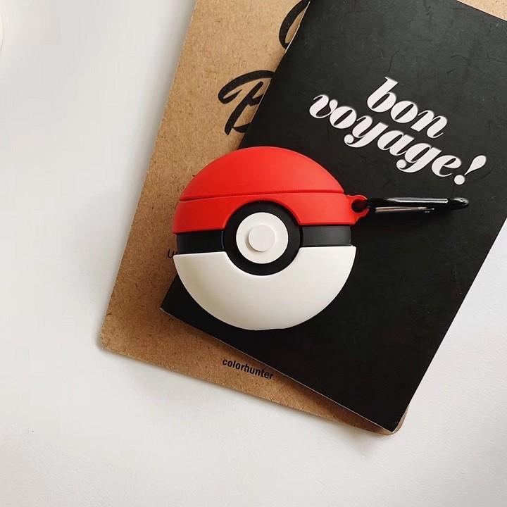 Ốp Airpods Pro silicone bóng Pokemon - PK441