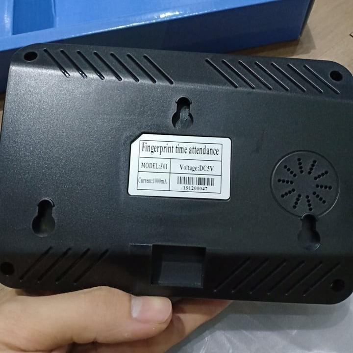 Máy chấm công vân tay F01 giao diện Tiếng Việt + Tặng kèm USB - 11