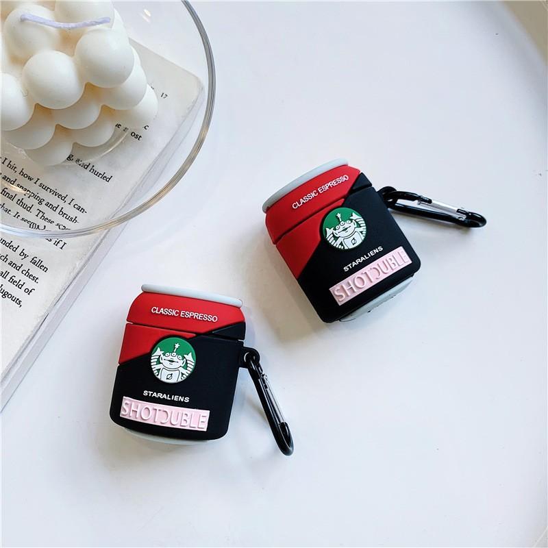 Ốp Airpods 1/2 hình Espresso Shotsuble - PK516