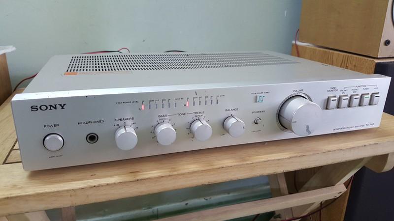 Ampli 5.1 dts - Ampli stereo - Đầu MD làm DAC - Đầu CDP - Sub woofer v.v.... - 1