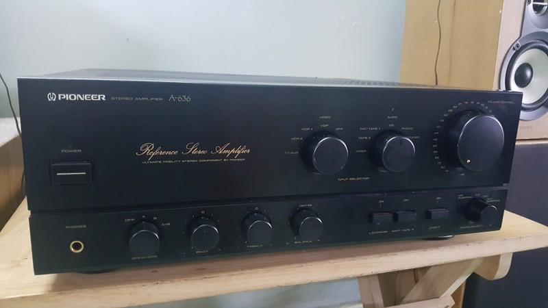 Ampli 5.1 dts - Ampli stereo - Đầu MD làm DAC - Đầu CDP - Sub woofer v.v.... - 7