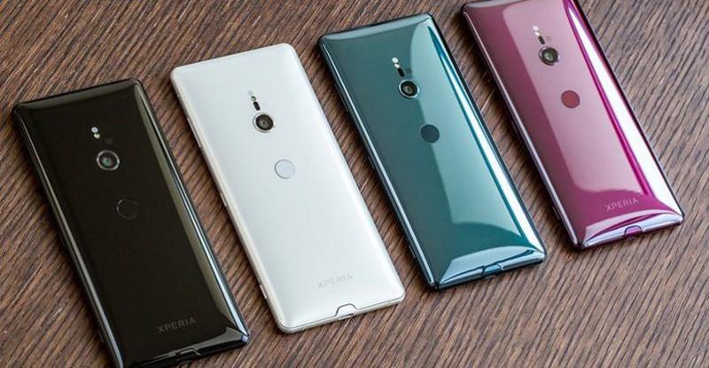 Giao diện Android trên điện thoại Sony Xperia XZ3
