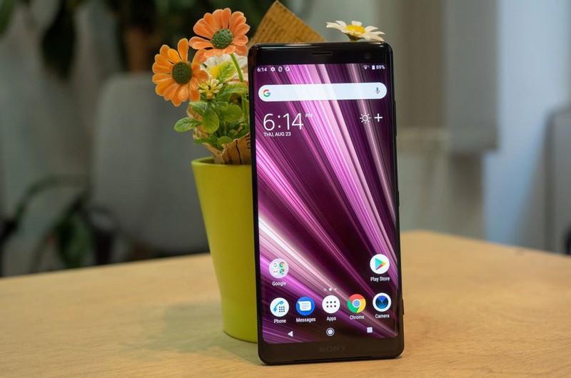 Khả năng hiển thị trên màn hình điện thoại Sony Xperia XZ3