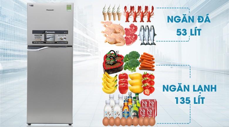 Công nghệ Inverter - Tủ lạnh Panasonic Inverter 188 lít NR-BA228PSV1
