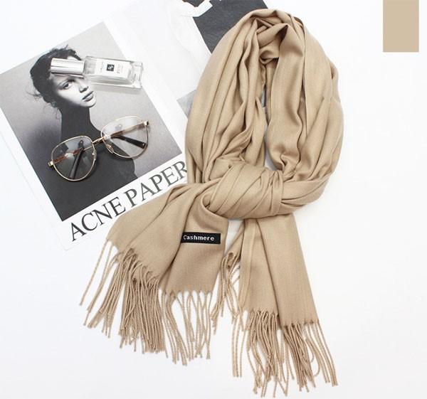 Khăn quàng cổ - khăn len mùa đông - khăn cashmere - khăn len giá rẻ