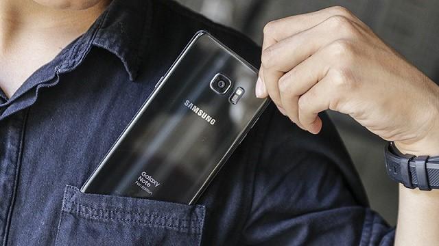 Thiết kế điện thoại Samsung Galaxy Note FE