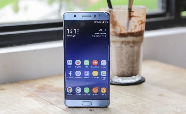 Cổng sạc trên điện thoại Samsung Galaxy Note FE