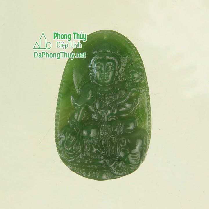 Phật phổ hiền bồ tát ngọc bích