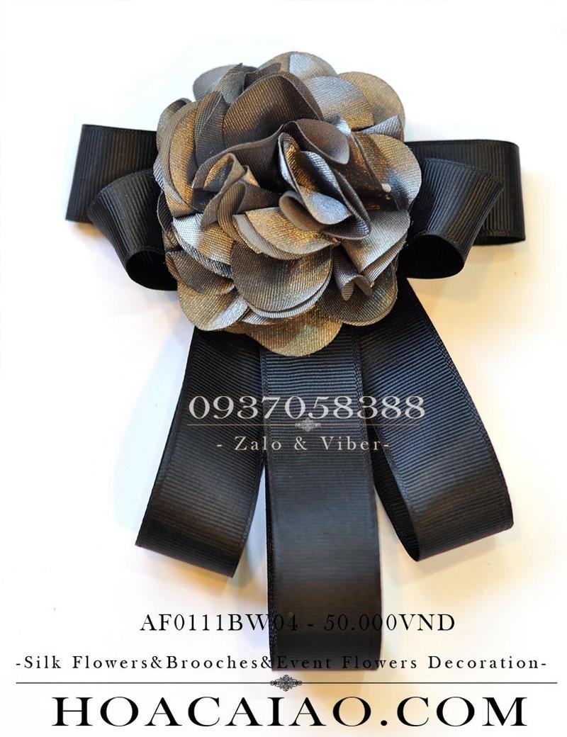 nơ hoa cài áo af0111bw04