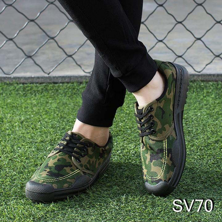 Giày sneaker nam phong cách thể thao catino rằn ri sv70