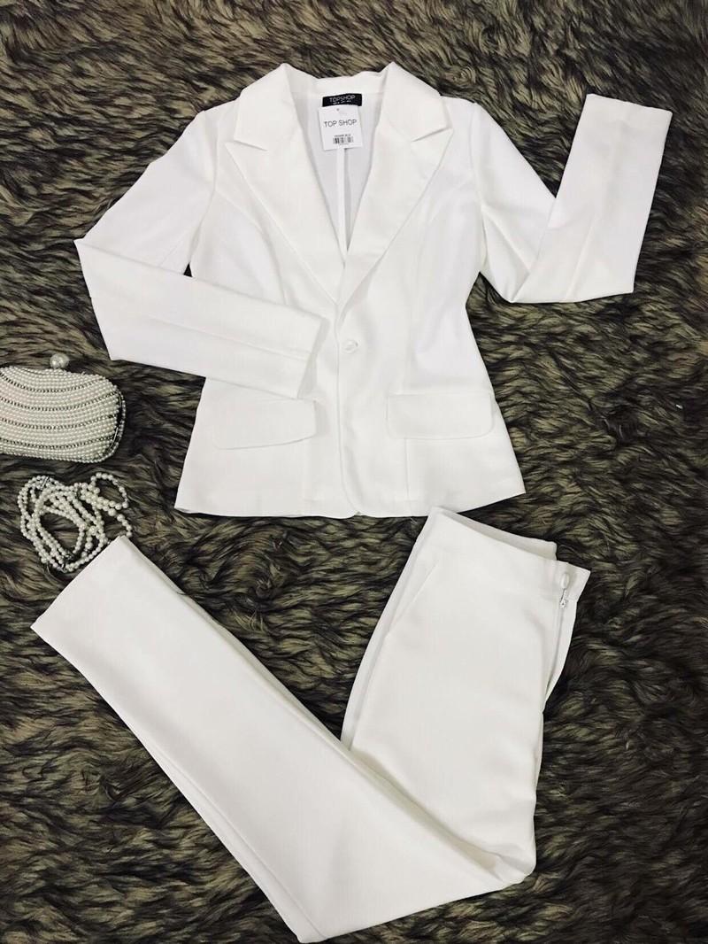 Bộ áo vest quần dài công sở cao cấp