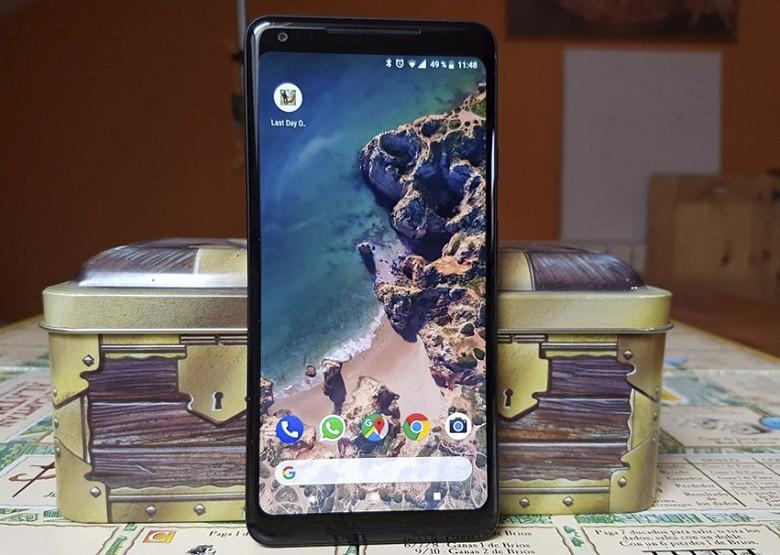 màn hình P-OLED của Google Pixel 2 XL