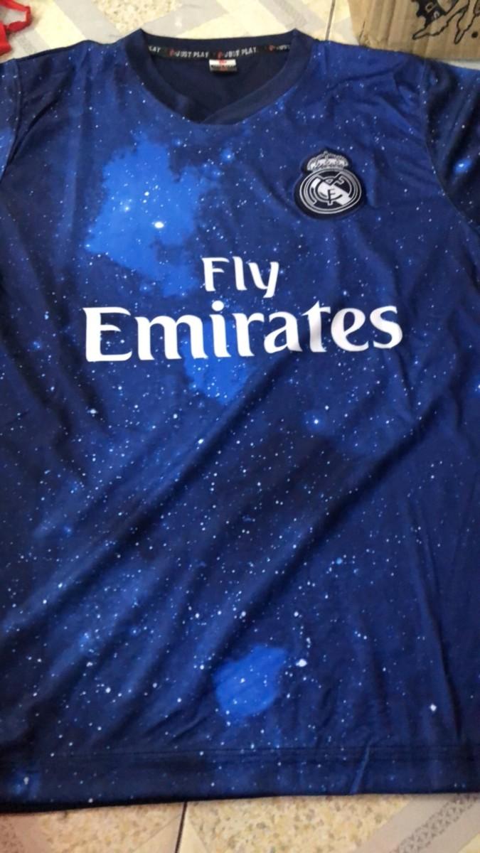 quần áo bóng đá real madrid dải ngân hà