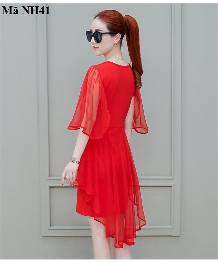 Đầm, váy ren cách điệu nh41t