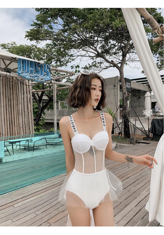 Bikini váy 1 mảnh, bikini 1 mảnh váy