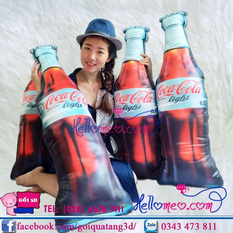 Gối Ôm 3D Hình Chai Coca-Cola Cho Bé 17239605 | Bigomart info