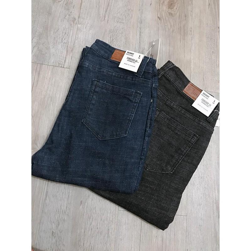 Quần jean nữ lưng cao dáng body cực đẹp, quần jean lưng cao