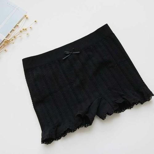 Quần mặc trong váy dệt gân 1 size