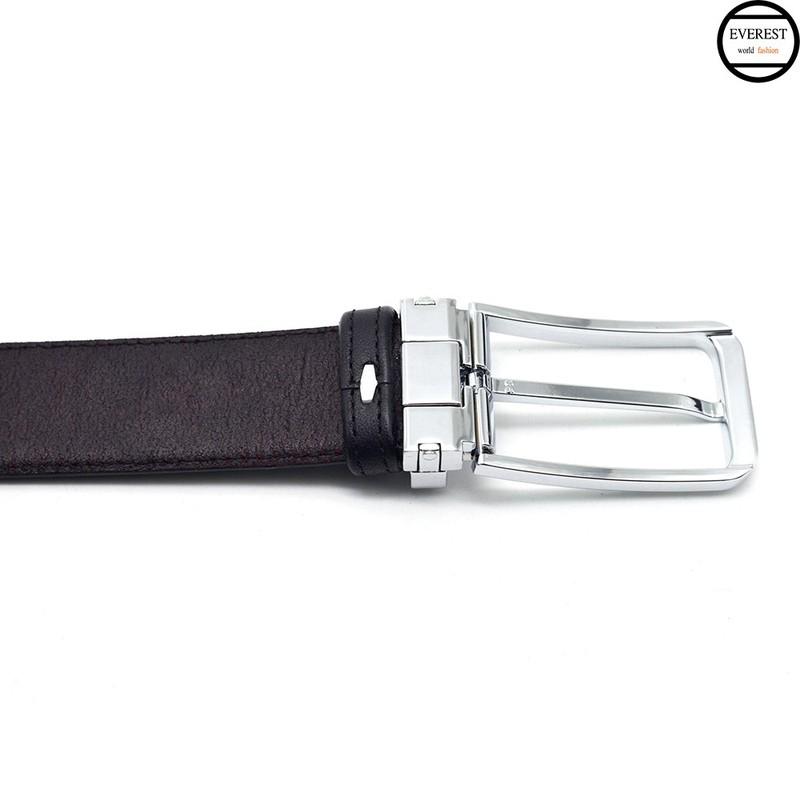 Thắt lưng da , dây nịt da nam cao cấp everest tld-14-đen