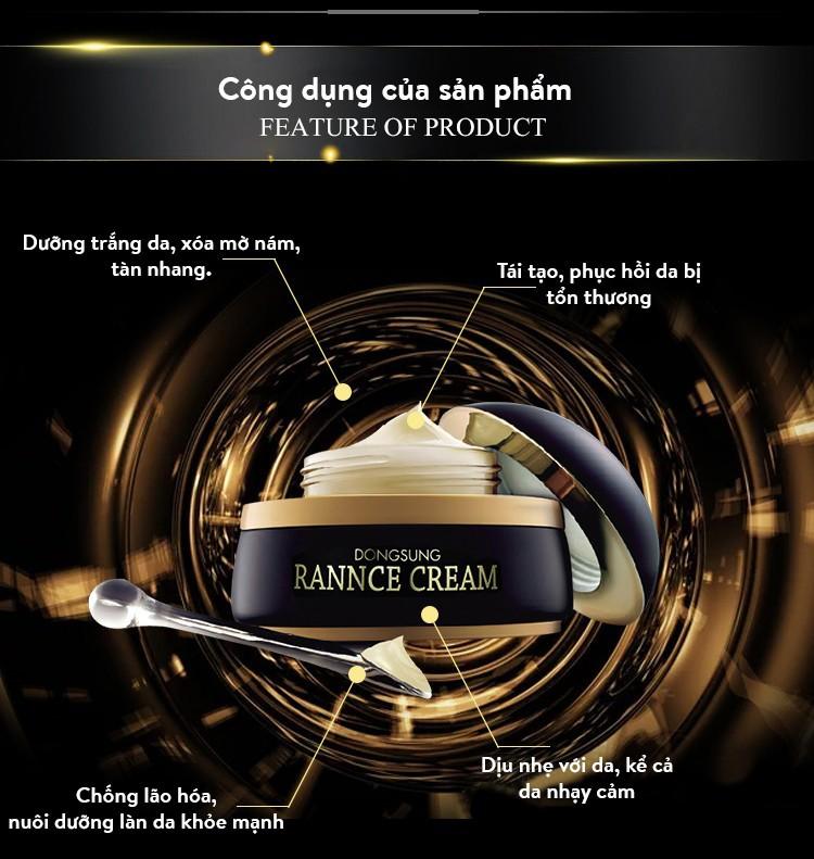 Kem dưỡng trắng da Dongsung Rannce Cream - 100% chính hãng từ Hàn Quốc