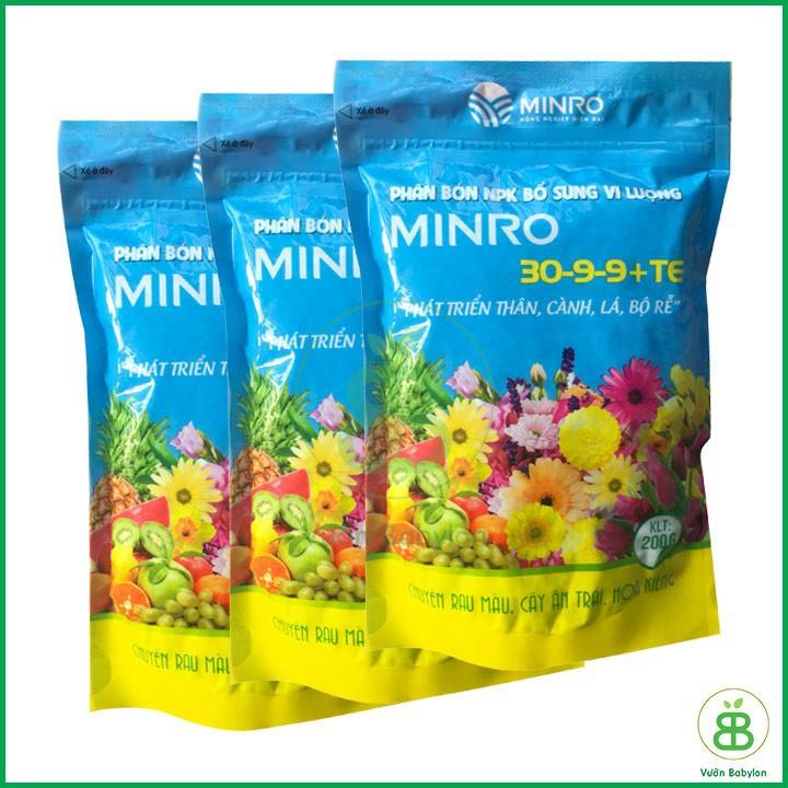phân bón Minro