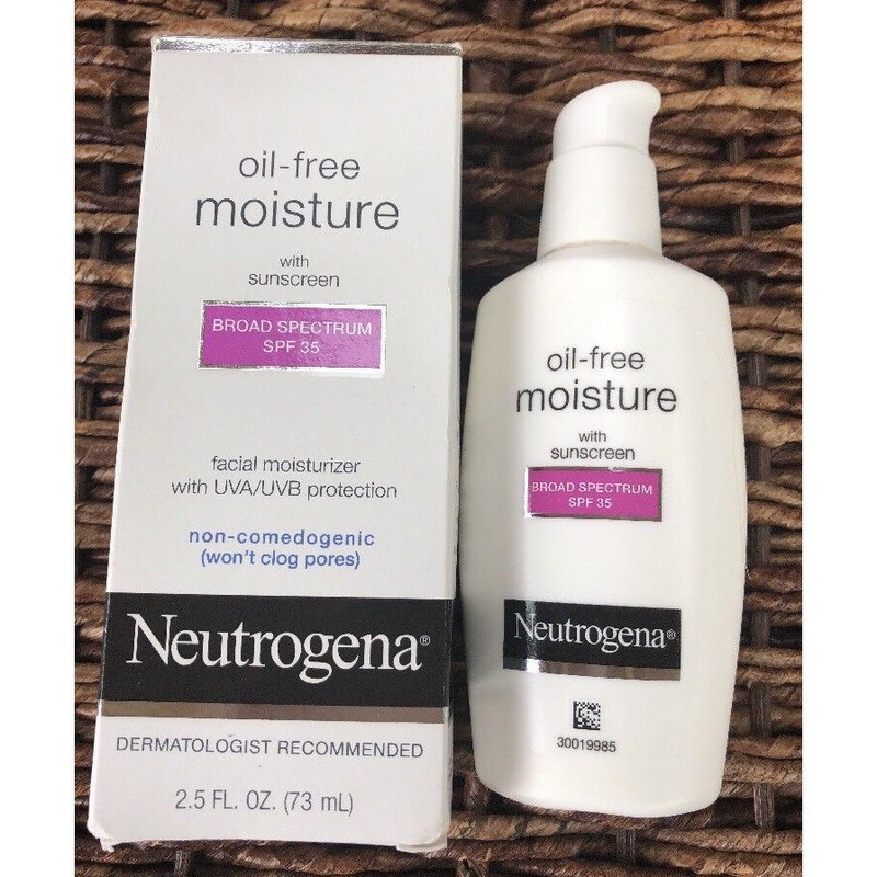 Neutrogena Oil Free Moisture Broad Spectrum SPF 15