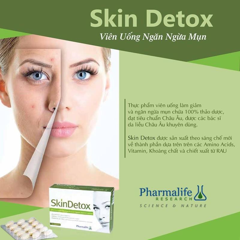 Viên uống thải độc, ngừa mụn Pharmalife SkinDetox – CÔNG TY TNHH PICARE  VIỆT NAM