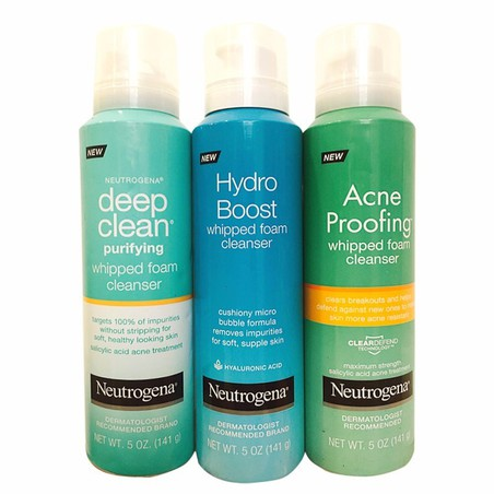 SỮA RỬA MẶT NEUTROGENA DEEP CLEAN PURIFYING WHIPPED FOAM CLEANSER