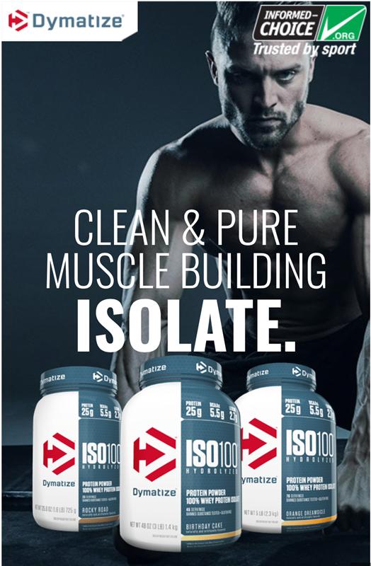 Sữa tăng cơ tối đa ISO Whey Protein Isolate100